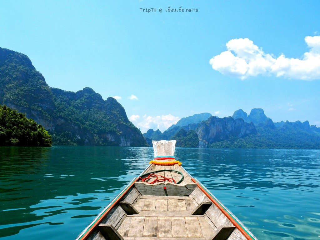 ล่องเรือ เที่ยวเขื่อนเชี่ยวหลาน (2)