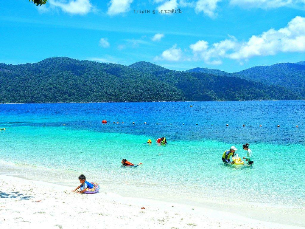 หาดทรายขาว เกาะราวี (3)