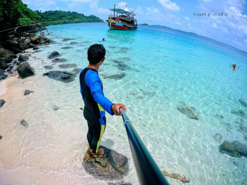 หาดศาลเจ้า เกาะรัง