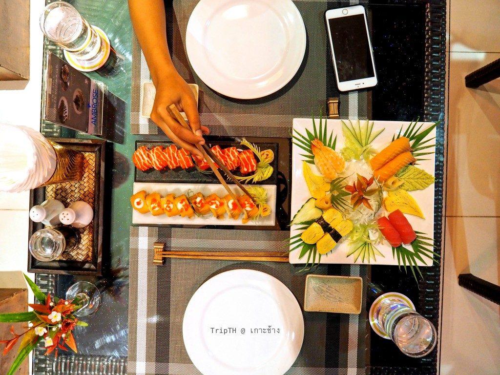 อาหารญี่ปุ่น เดอะแกลเลอรี่ เกาะช้าง (3)