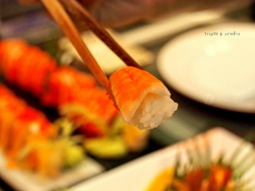 อาหารญี่ปุ่น เดอะแกลเลอรี่ เกาะช้าง (4)