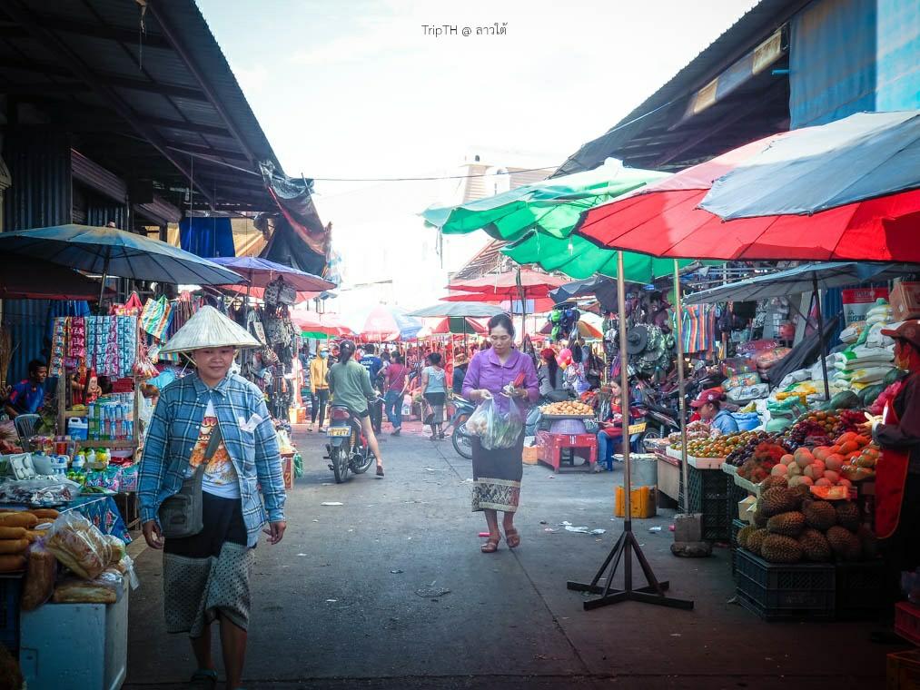 ตลาดดาวเรือง (ดาวเฮือง) ปากเซ (2)