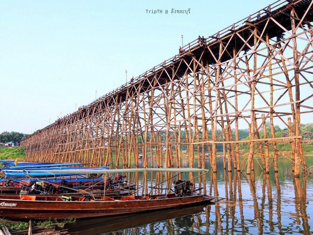 นั่งเรือชมวัดใต้น้ำ เมืองบาดาล (1)