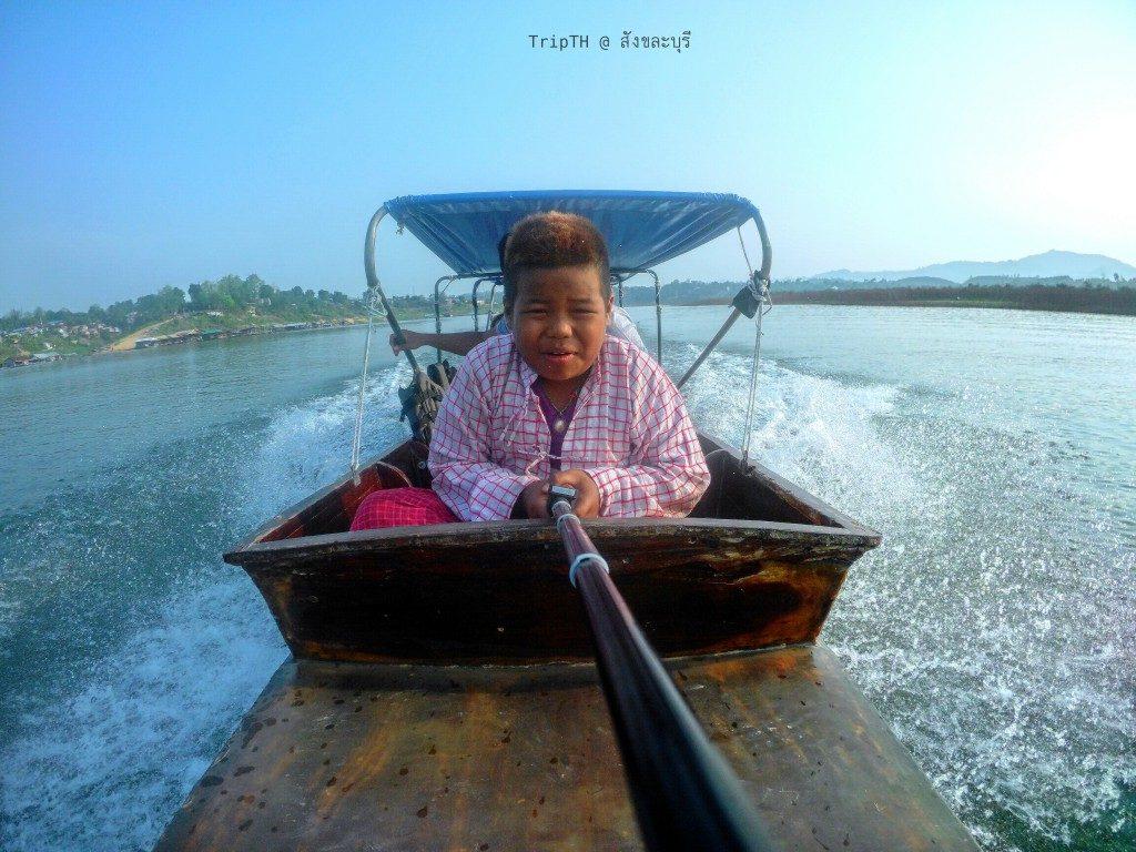 นั่งเรือชมวัดใต้น้ำ เมืองบาดาล (2)