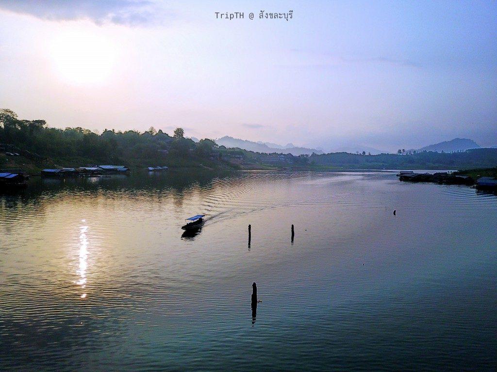 บรรยากาศยามเช้า สะพานมอญ (1)