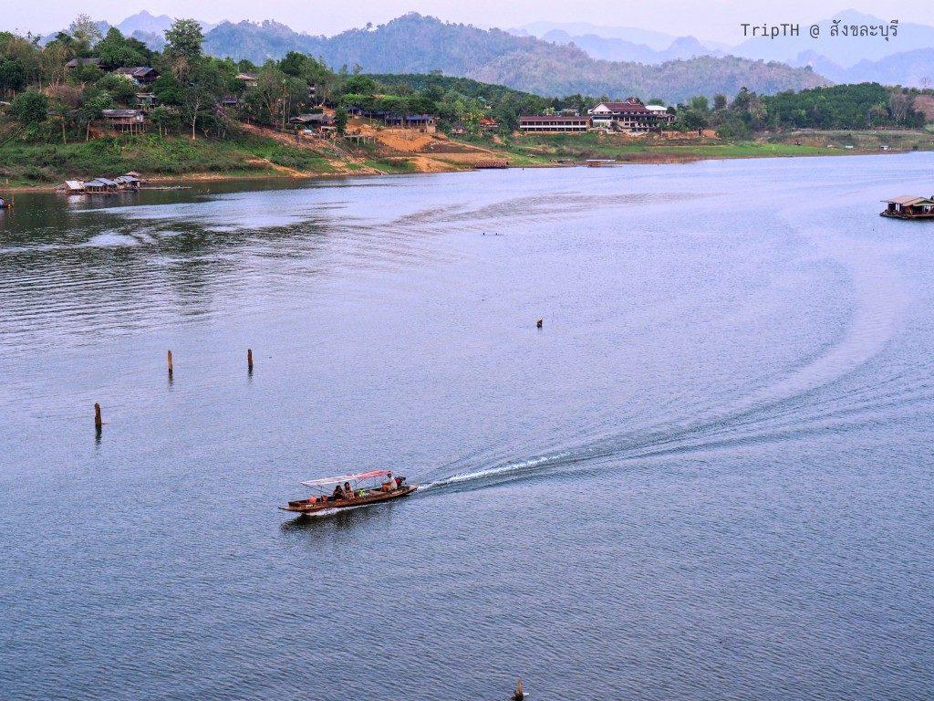 บรรยากาศยามเย็น สะพานมอญ (2)