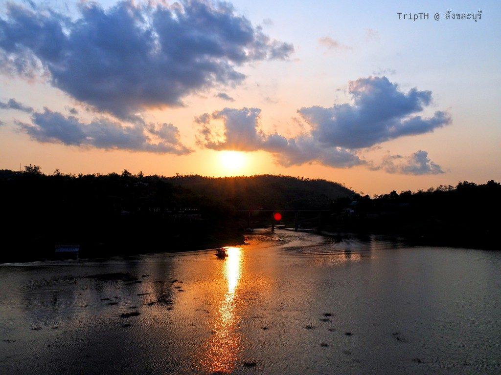 บรรยากาศยามเย็น สะพานมอญ (3)