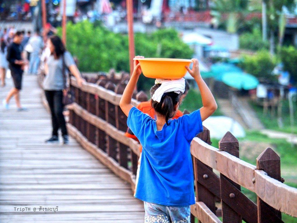 สะพานมอญ สังขละบุรี (4)