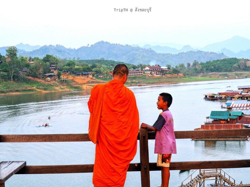 สะพานมอญ สังขละบุรี (5)