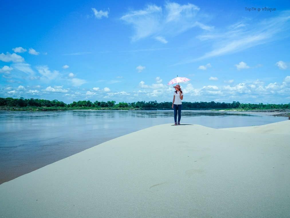 หาดทรายสูง เขมราฐ (3)