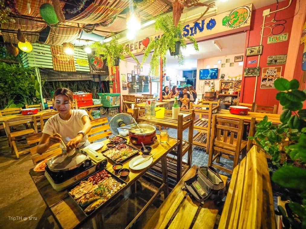 ร้านกาลาสิโน โคขุน จิ้มจุ่ม โคขุนโพนยางคำ เบียร์วุ้น (2)