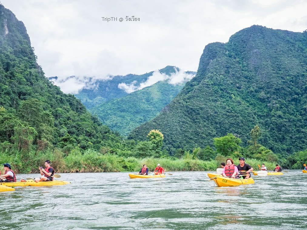 พายเรือคายัค แม่น้ำซอง (2)