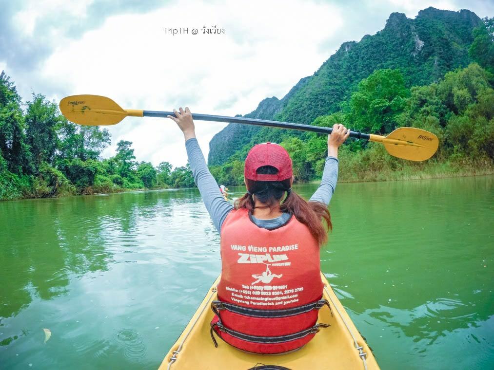 พายเรือคายัค แม่น้ำซอง (3)