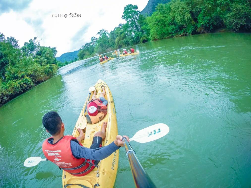พายเรือคายัค แม่น้ำซอง (4)
