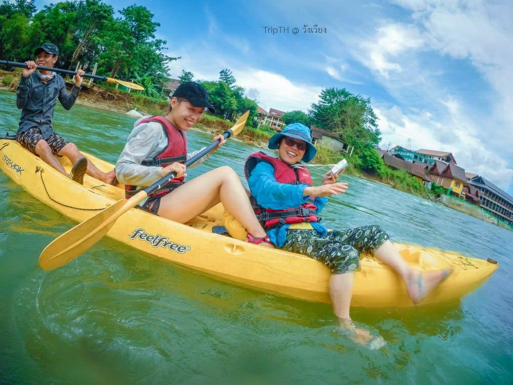 พายเรือคายัค แม่น้ำซอง (5)