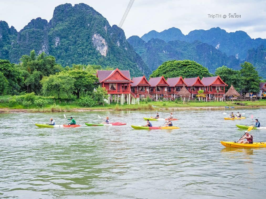 พายเรือคายัค แม่น้ำซอง (6)