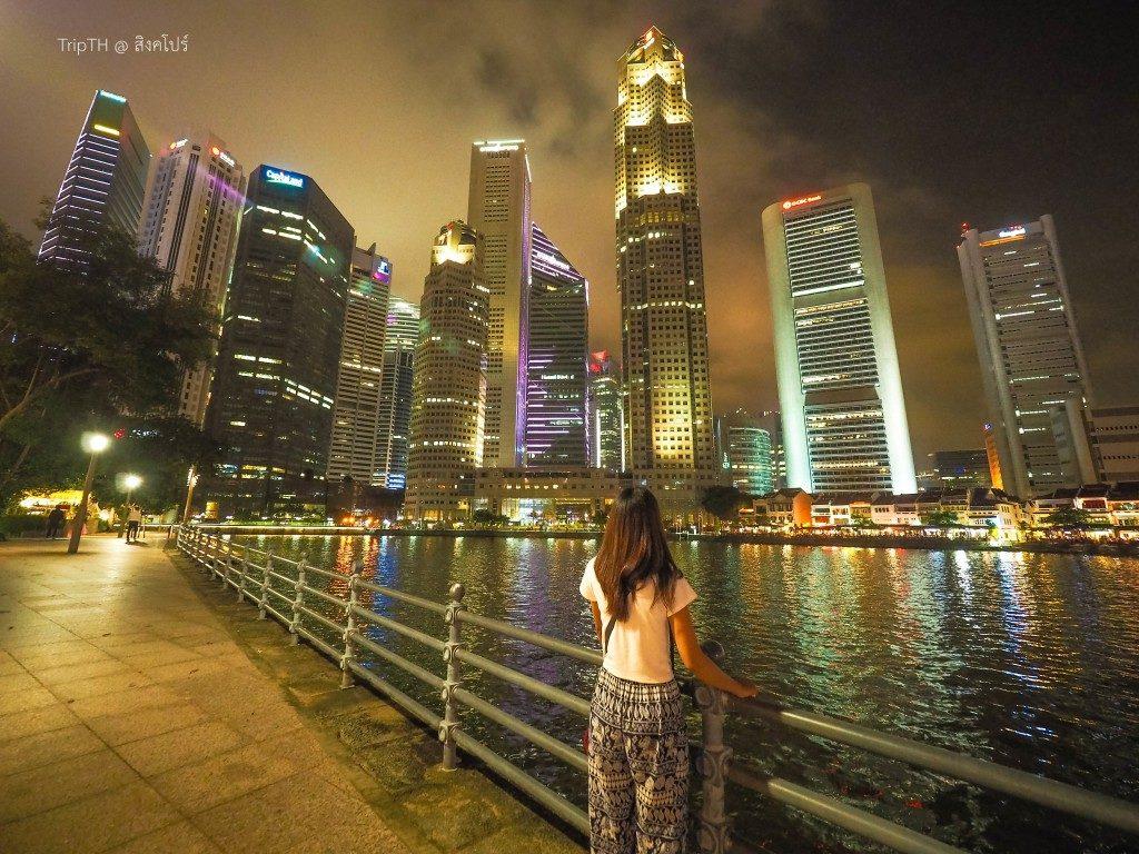 ริมแม่น้ำสิงคโปร์ ยามค่ำคืน (1)