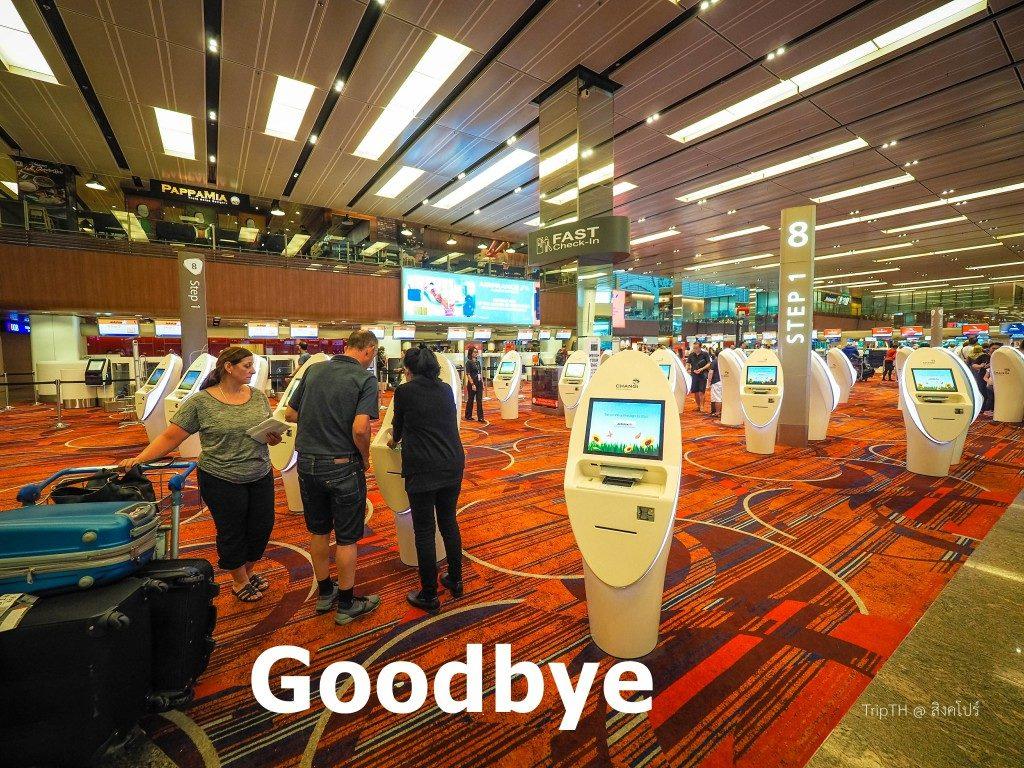 สนามบินชางงี (Changi Airport) (2)